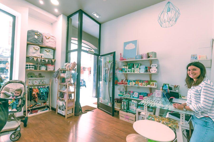 tienda de ropa, complementos y decoración para niños