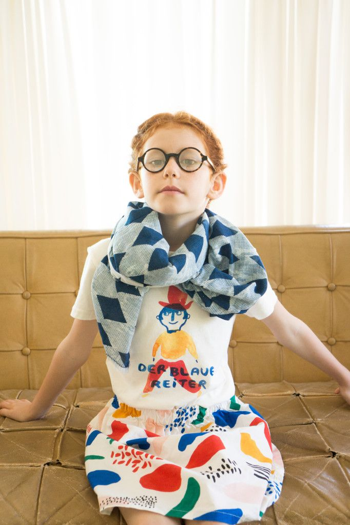 "Bobo Choses new collection spring summer 16 ""Der Blaue Reiter"" sneak peek campaign MATISSE"