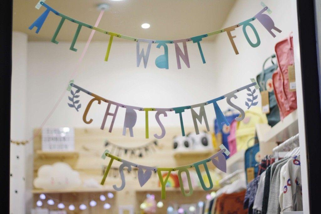letter banner navidad tienda online para niños