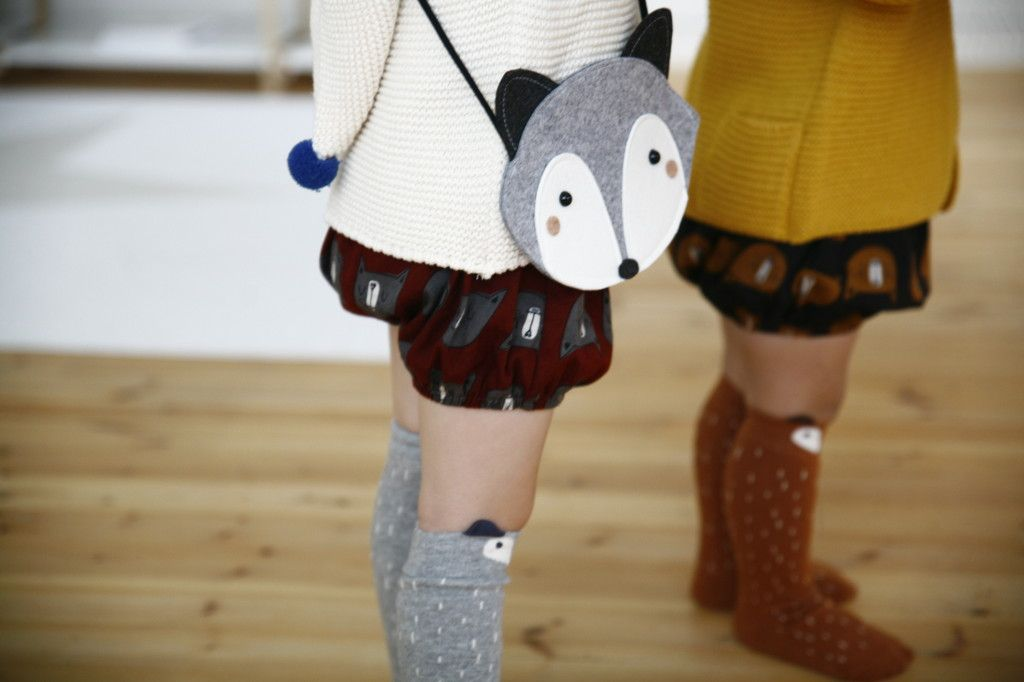 Bolsos Calcetines zorro zorrito racoon sockscomprar online tienda niños gijon jo mami kids