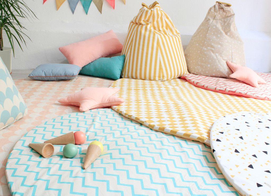 NOBODINOZ decoracion infantil alfombra cojines banderolas compra online