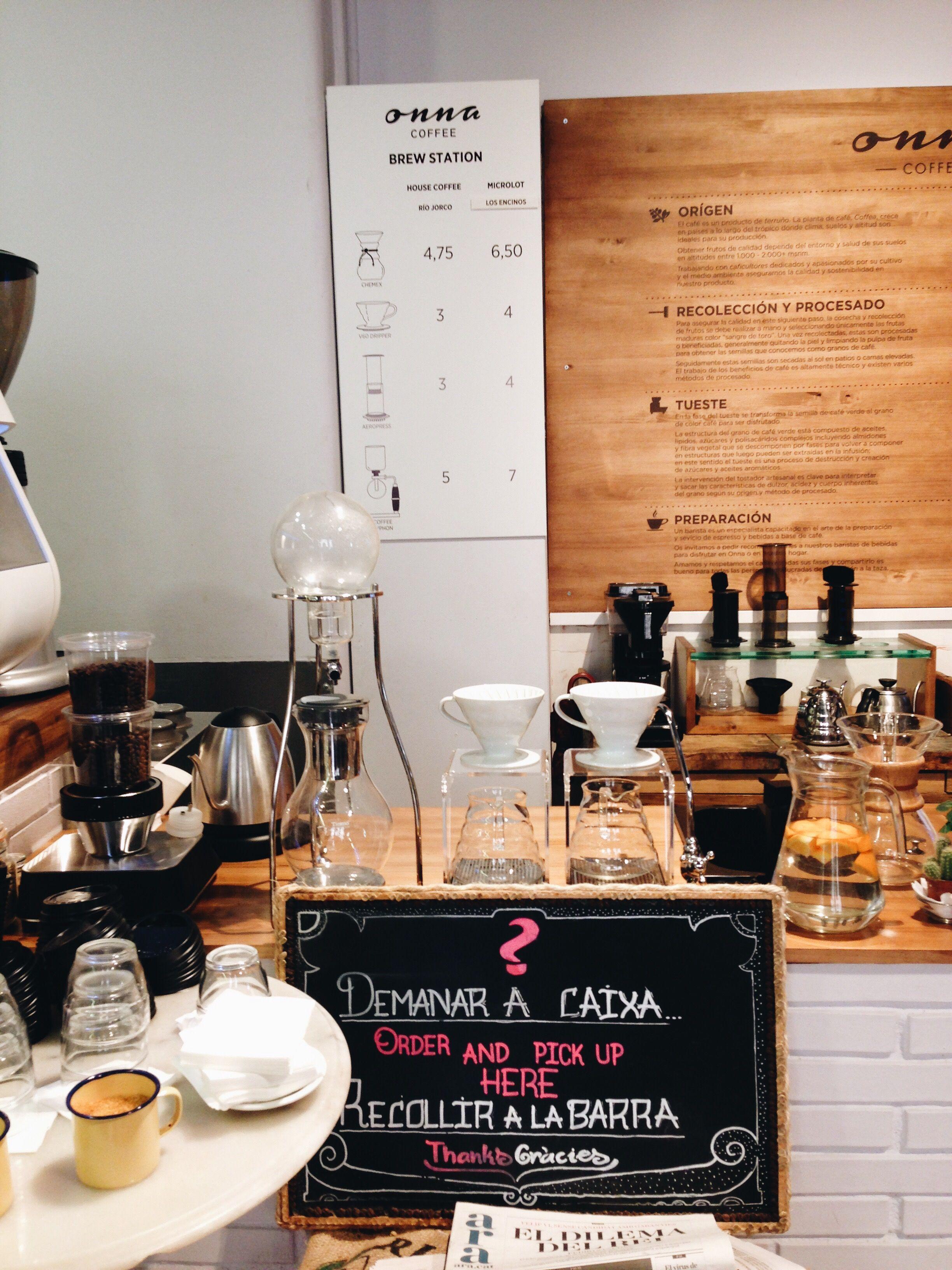 onna coffe cafeterias recomendadas en barcelona foodie
