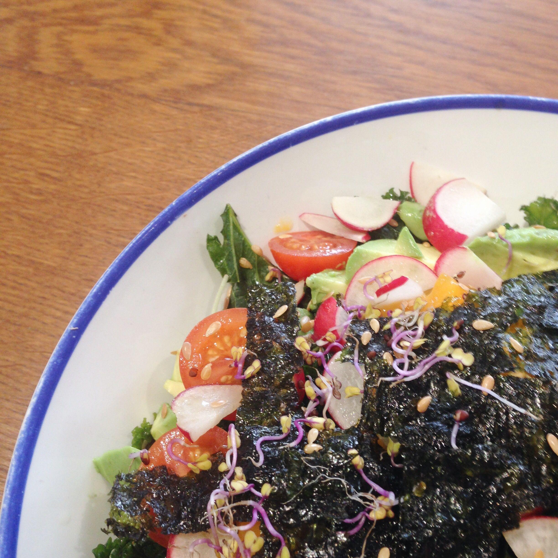 flax kale barcelona ensalada foodie