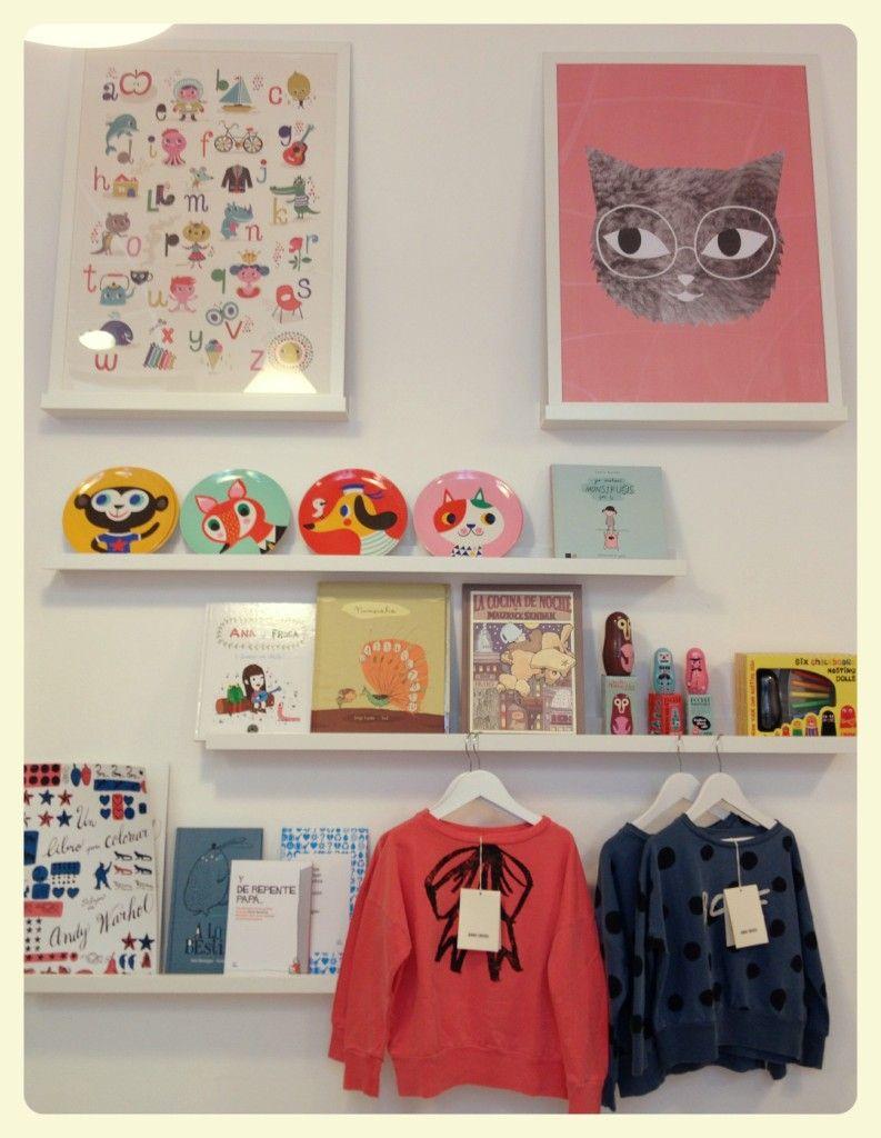 Ribba el estante de ikea que decora habitaciones infantiles - Habitaciones de ninos ikea ...
