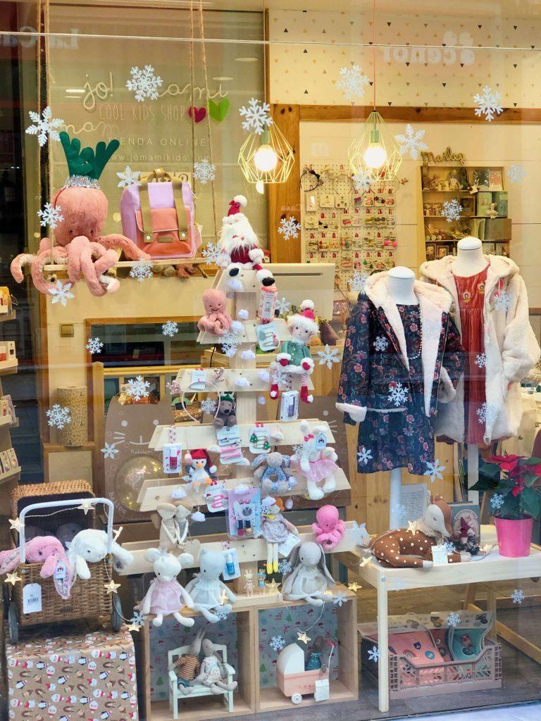 Tienda de regalos de navidad para niños en Gijón