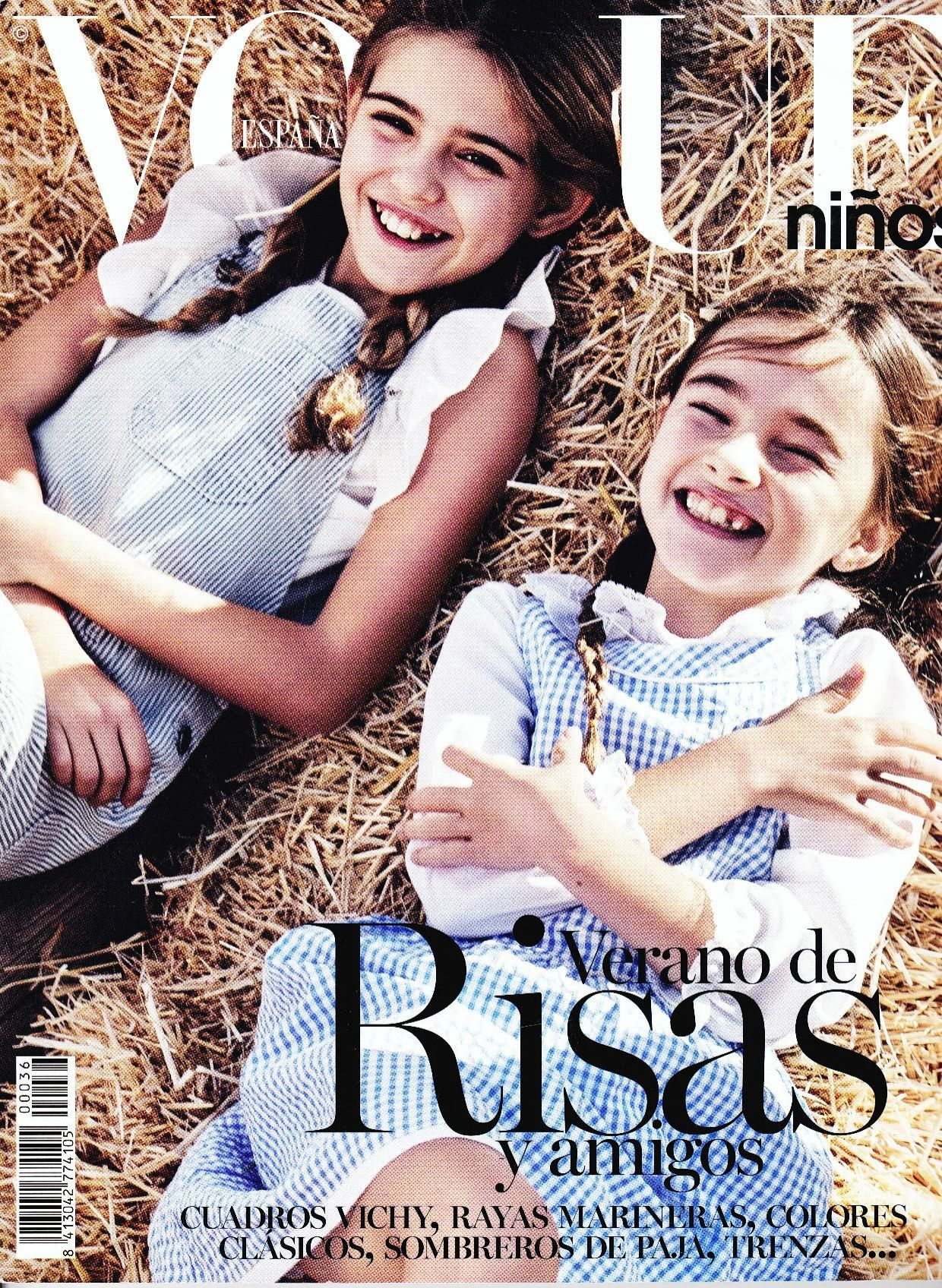 REVISTA VOGUE NIÑOS JO MAMI KIDS