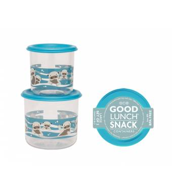 Baby Otter Good Lunch Snack Containers Large Sugarbooger