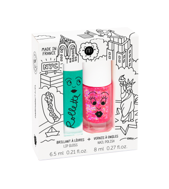Duo Nail Polish Rollette New York Nailmatic