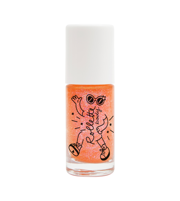 Body Rollette Glitter Peach Nailmatic