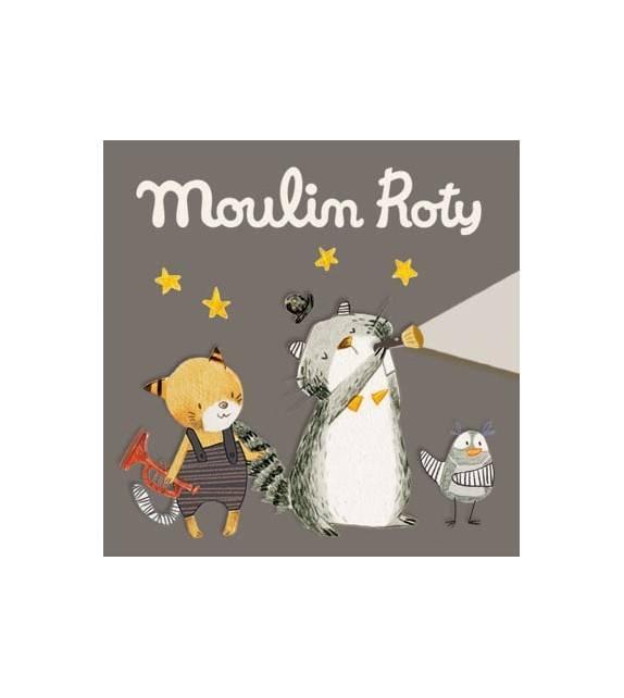 Cuentos Moustaches para Linternas Moulin Roty