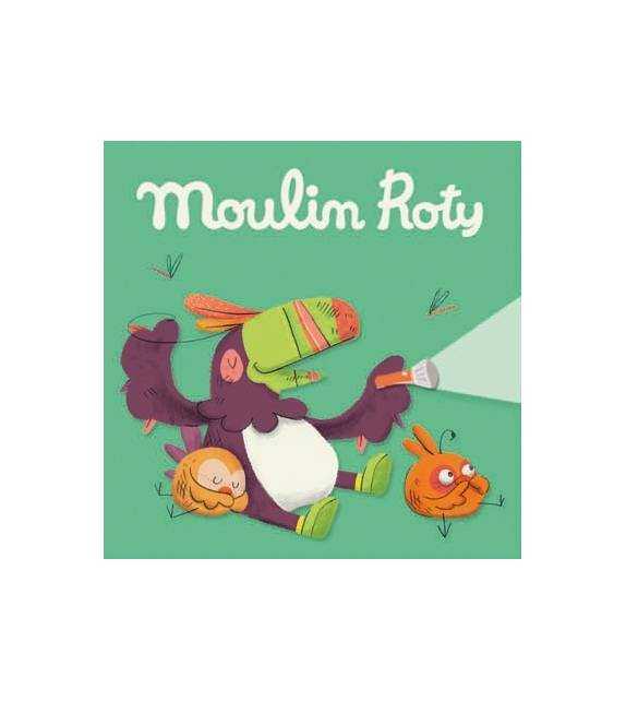 Cuentos En La Jungla para Linternas Moulin Roty