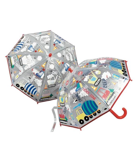 Colour Changing Kids Umbrella Construction