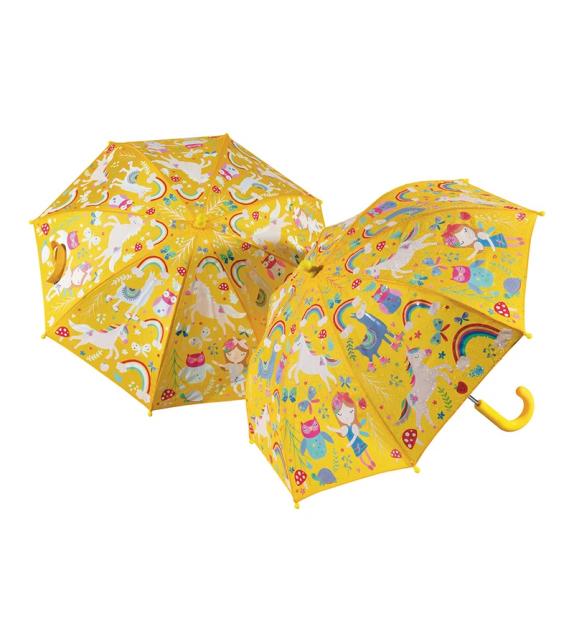 Colour Changing Kids Umbrella Rainbow