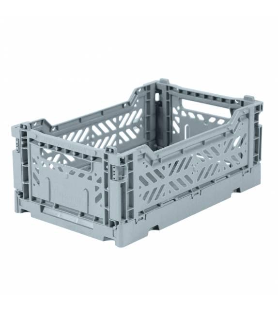 Folding Crate Minibox Pale Blue Lillemor