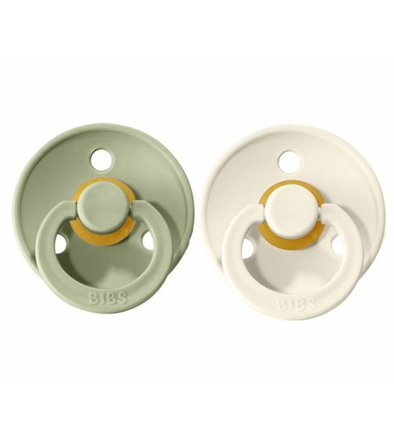 Pacifiers Bibs Colour Ivory/Sage