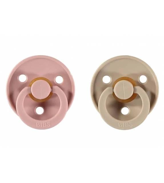Pacifiers Bibs Colour Blush/Vanilla