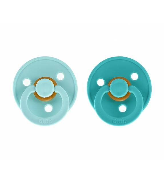 2 Chupetes Bibs Mint/Turquoise