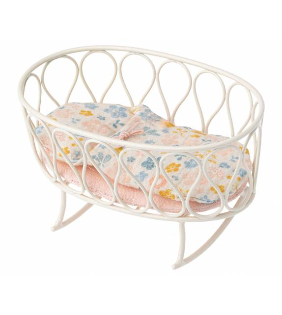 Cradle With Sleeping Bag Mouse Maileg