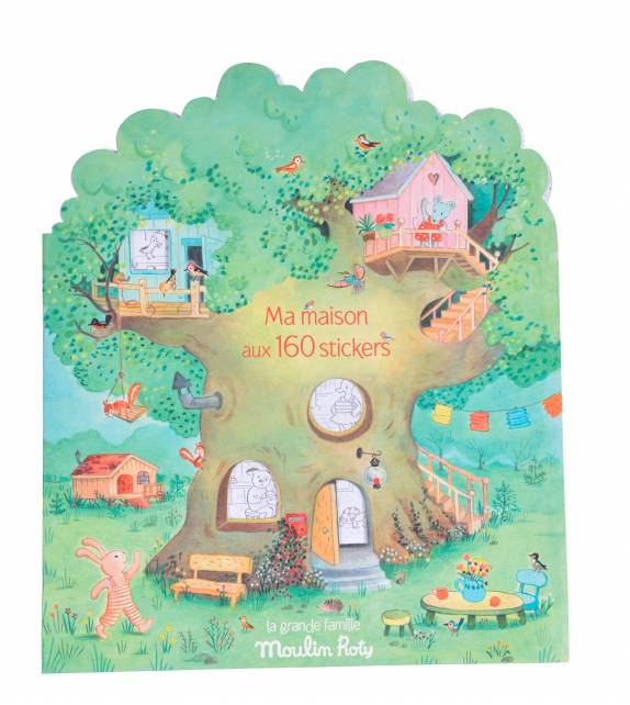 Sticker book La Grande Famille Moulin Roty