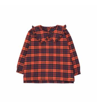 Camisa Cuadros TINYCOTTONS
