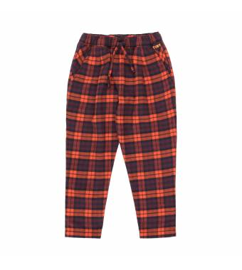 Check Pleated Pant TINYCOTTONS