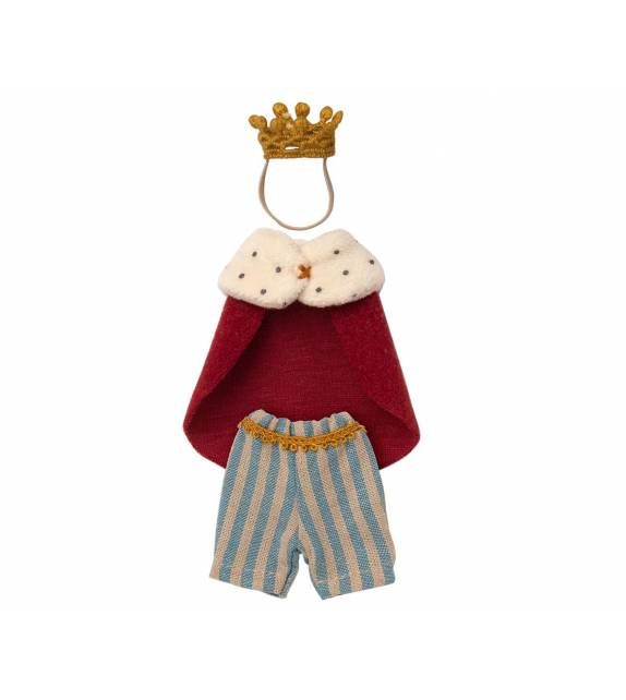 King Clothes for Mouse Maileg