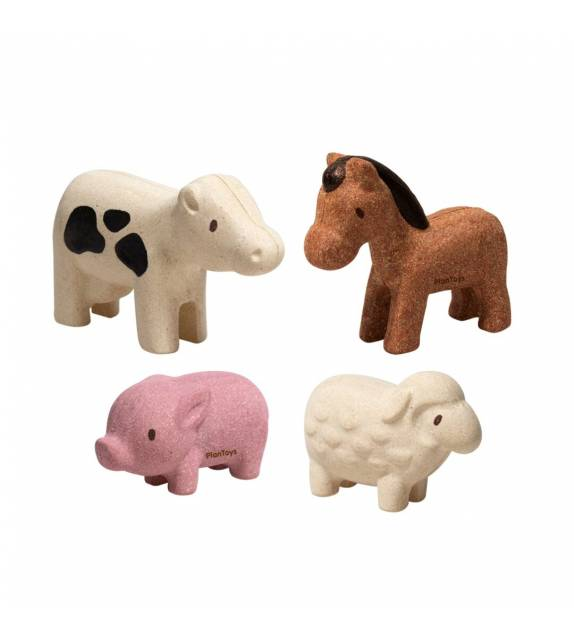 Set de Animales de la Granja PlanToys