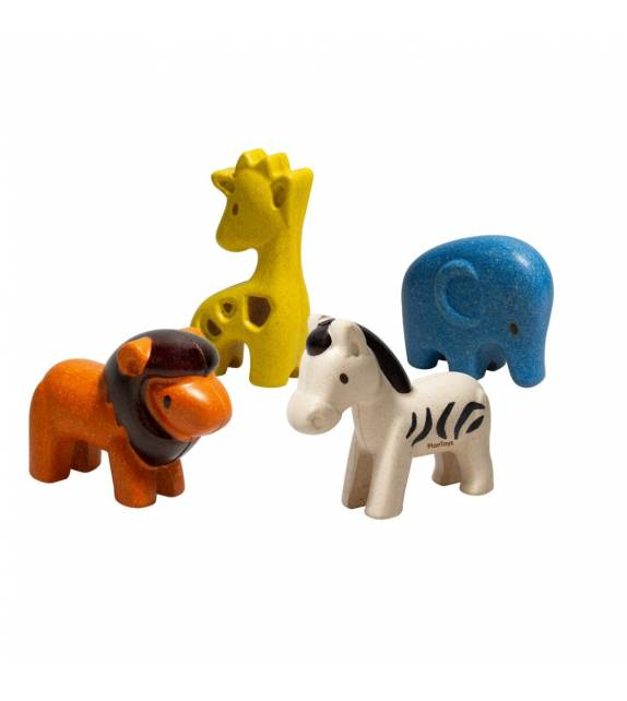 Set de Animales Salvajes PlanToys
