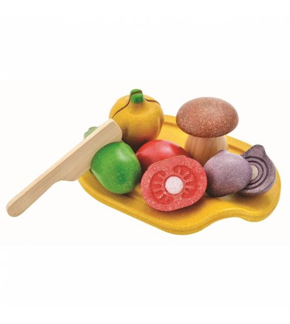 Assorted Vegetables Set PlanToys