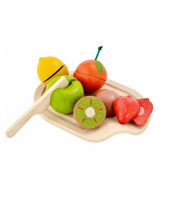 Assorted Fruit Set PlanToys