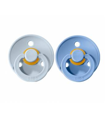 Pacifiers Bibs Colour Sky Blue/Baby Blue
