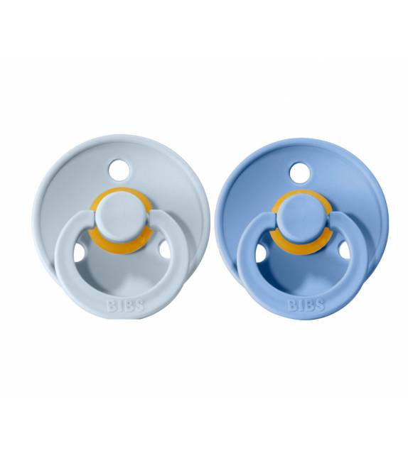 Pacifiers Bibs Colour Sky Blue/Baby Blue