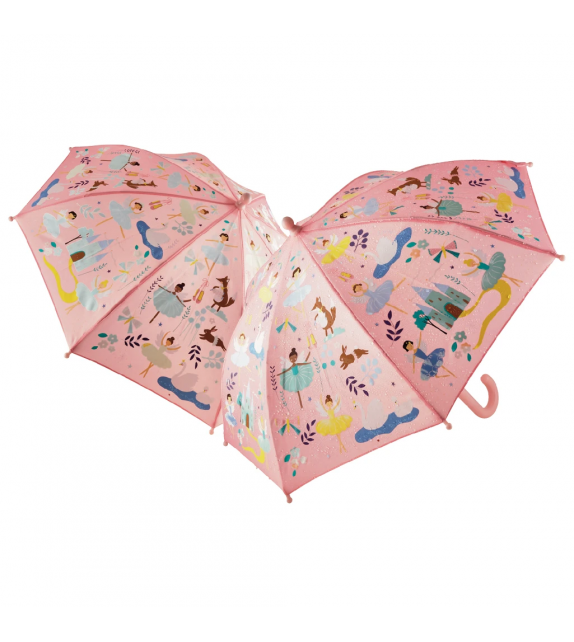 Paraguas Bailarinas Cambia Color