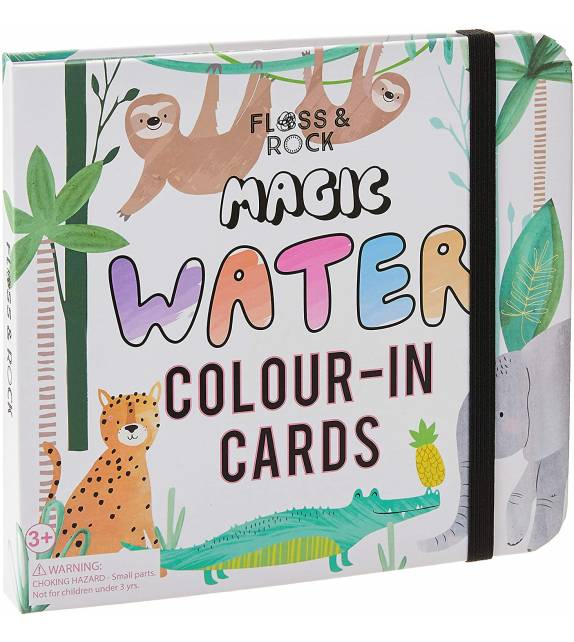 Magic Colour Changing Water Cards Jungle