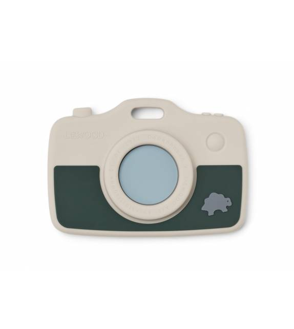 Steven Camera Teether Green Liewood