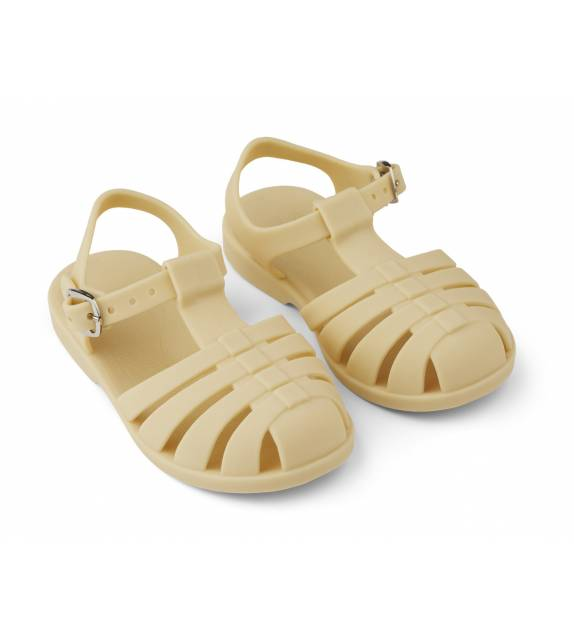 Bre Sandals Light Wheat Yellow Liewood