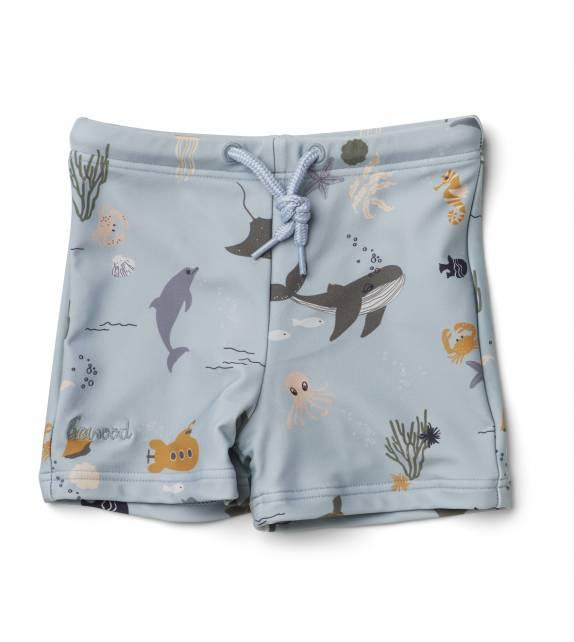 Otto Swim Pants Sea Creature Liewood