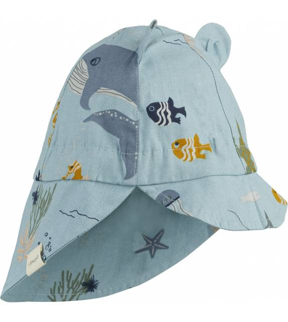 Gorm Sun Hat Sea Creature Liewood