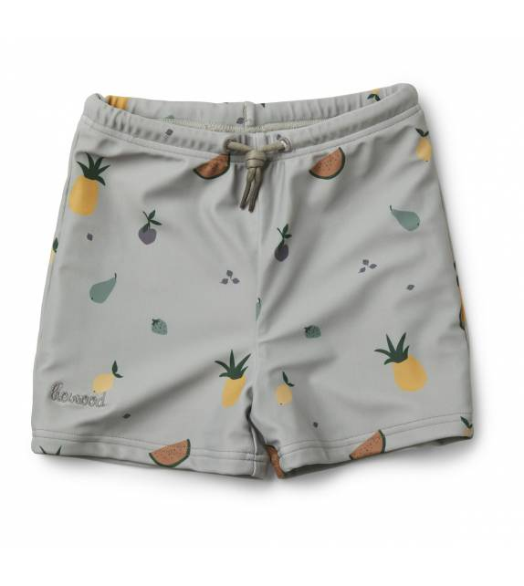 Otto Swim Pants Fruit Dove Blue Liewood