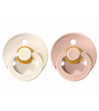 Pacifiers Bibs Colour Blush/Ivory