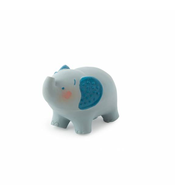 Natural Rubber Elephant Teething Toy Baobab Moulin Roty
