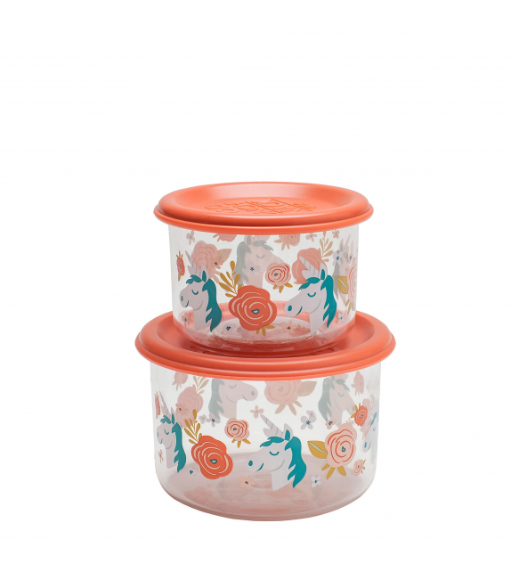 Unicorn Good Lunch Snack Containers Small Sugarbooger