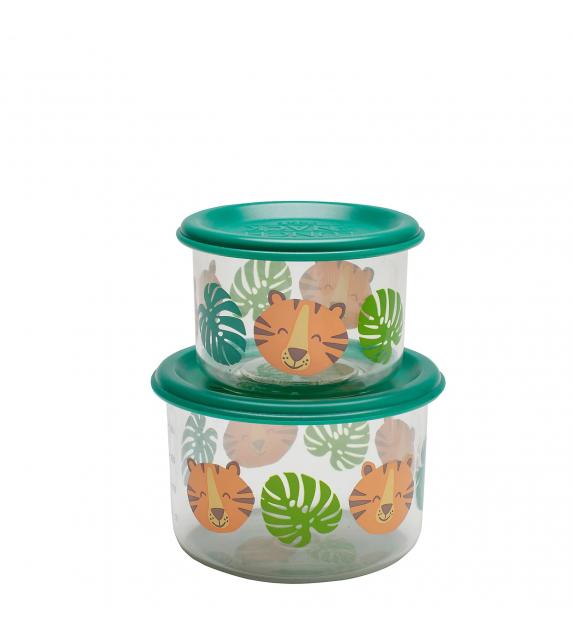 Set 2 Cajas de almuerzo pequeñas Tigre Sugarbooger