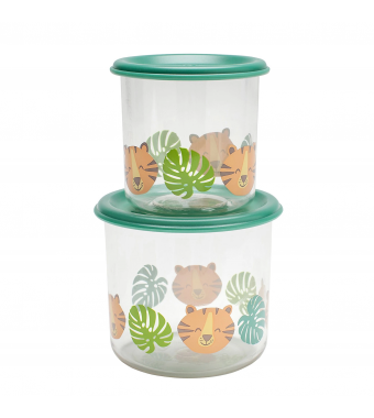 Tiger Good Lunch Snack Containers Large Sugarbooger