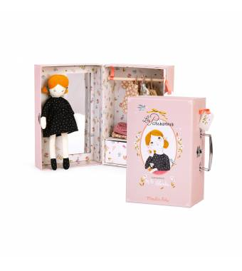 Mademoiselle Blanche Suitcase Les Parisiennes Moulin Roty