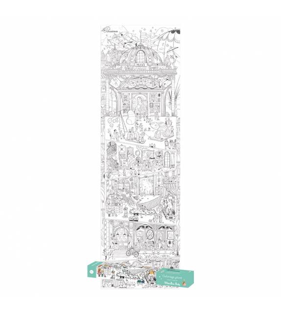 Giant Colouring Les Parisiennes Moulin Roty