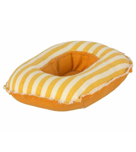 Rubber Boat Mouse Yellow Stripe Maileg