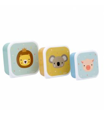 Animal Friends Snack Boxes