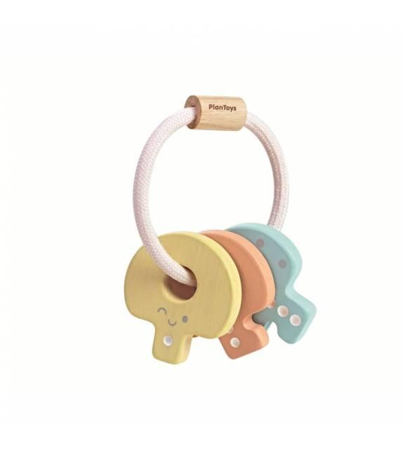 Key Rattle Pastel PlanToys