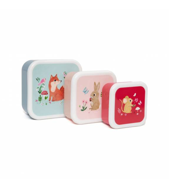 Snack Boxes Woodland